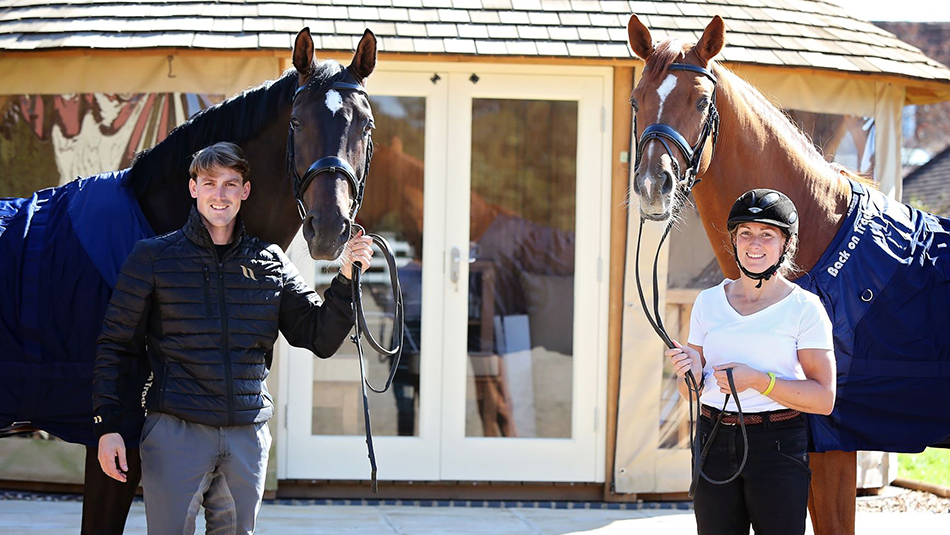Back on Track partners renowned dressage family