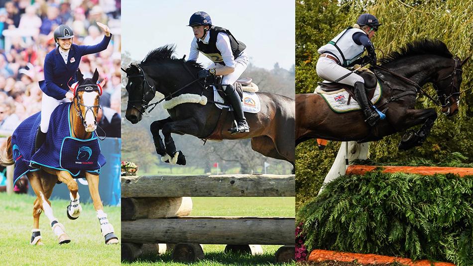 Cavalor sponsors rising stars of eventing