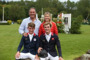 HOYS Master Showjumping - The Fletcher Family - Photo credit Julian Portch